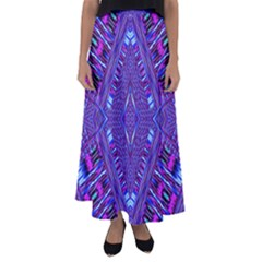 Race Time Queen Flared Maxi Skirt