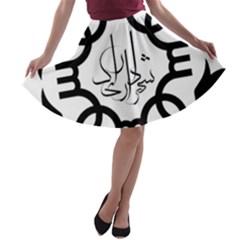 Seal Of Arak  A Line Skater Skirt