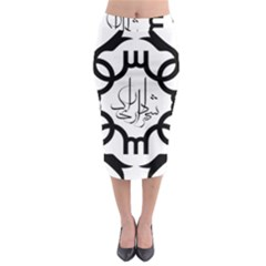 Seal Of Arak  Midi Pencil Skirt