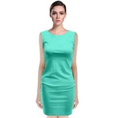 Auqua Classic Sleeveless Midi Dress