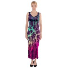 Just A Stargazer Fitted Maxi Dress