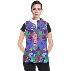 Big And Small Shapes                       Women s Puffer Vest
