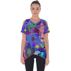 Big And Small Shapes                       Cut Out Side Drop Tee