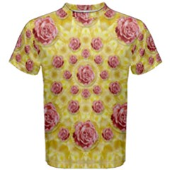 Roses And Fantasy Roses Men s Cotton Tee