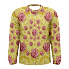 Roses And Fantasy Roses Men s Long Sleeve Tee