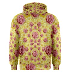 Roses And Fantasy Roses Men s Pullover Hoodie