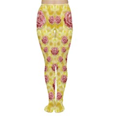 Roses And Fantasy Roses Women s Tights