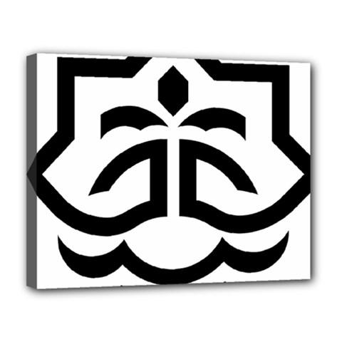 Seal Of Bandar Abbas Canvas 14  X 11