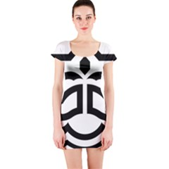 Seal Of Bandar Abbas Short Sleeve Bodycon Dress