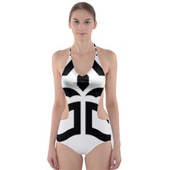 Seal Of Bandar Abbas Cut Out One Piece Swimsuit