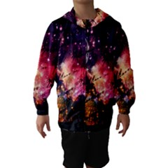 Letter From Outer Space Hooded Wind Breaker (kids)