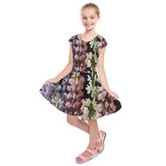 Flowers Kids  Short Sleeve Dress