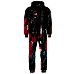 4th Of July Independence Day Hooded Jumpsuit (men)