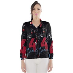 4th Of July Independence Day Wind Breaker (women)