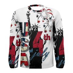 4th Of July Independence Day Men s Long Sleeve Tee