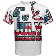 4th Of July Independence Day Men s Cotton Tee