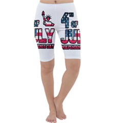 4th Of July Independence Day Cropped Leggings