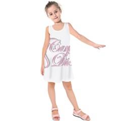 Carpe Diem  Kids  Sleeveless Dress
