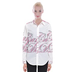 Carpe Diem  Womens Long Sleeve Shirt