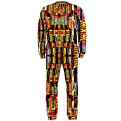 Three D Pie  Onepiece Jumpsuit (men)