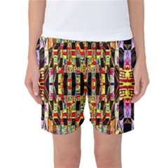 Three D Pie  Women s Basketball Shorts