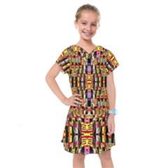 Three D Pie  Kids  Drop Waist Dress
