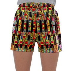 Three D Pie  Sleepwear Shorts