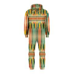 Festive Pattern Hooded Jumpsuit (kids)