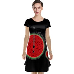 Watermelon Bicycle  Cap Sleeve Nightdress