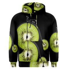 Kiwi Bicycle  Men s Pullover Hoodie