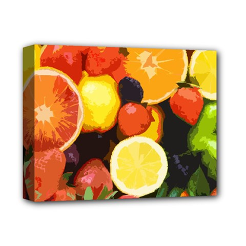 Fruits Pattern Deluxe Canvas 14  X 11