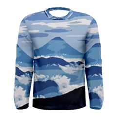 Landscape Men s Long Sleeve Tee