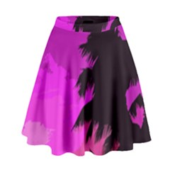 Landscape High Waist Skirt
