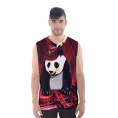 Deejay Panda Men s Basketball Tank Top