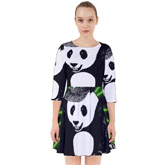 Deejay Panda Smock Dress