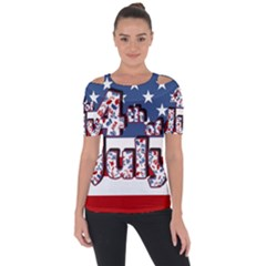4th Of July Independence Day Short Sleeve Top