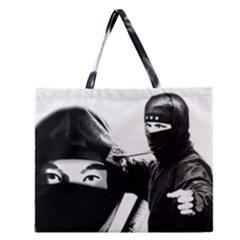 Ninja Zipper Large Tote Bag
