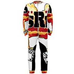 Nuclear Explosion Trump And Kim Jong Onepiece Jumpsuit (men)