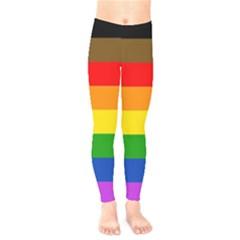 Philadelphia Pride Flag Kids  Legging