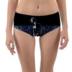 Great Dane Reversible Mid Waist Bikini Bottoms
