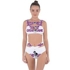 Great Dane Bandaged Up Bikini Set