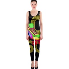 Roller Skater 80s Onepiece Catsuit