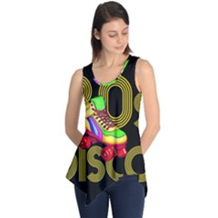 Roller Skater 80s Sleeveless Tunic