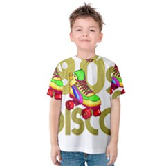 Roller Skater 80s Kids  Cotton Tee