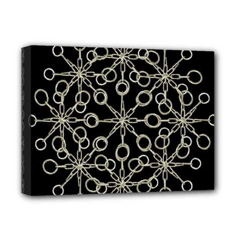Ornate Chained Atrwork Deluxe Canvas 16  X 12