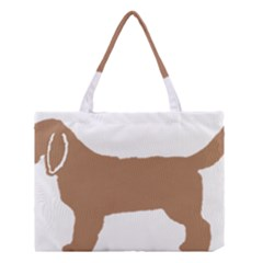 Basset Fauve De Bretagne Color Silhouette Medium Tote Bag