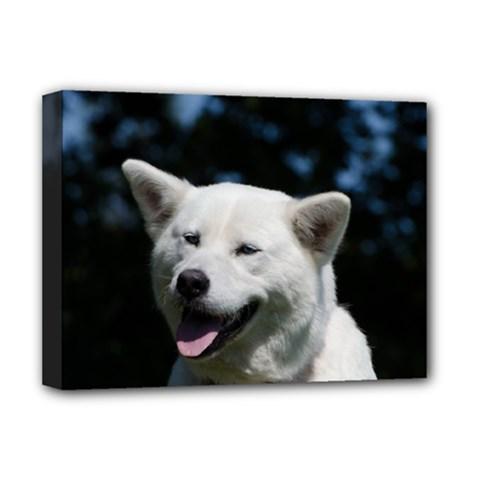 Akita 4 Deluxe Canvas 16  X 12