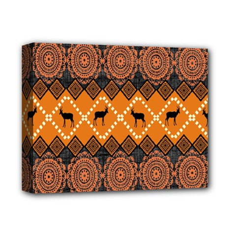 Traditiona  Patterns And African Patterns Deluxe Canvas 14  X 11