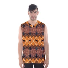Traditiona  Patterns And African Patterns Men s Basketball Tank Top