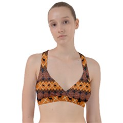 Traditiona  Patterns And African Patterns Sweetheart Sports Bra